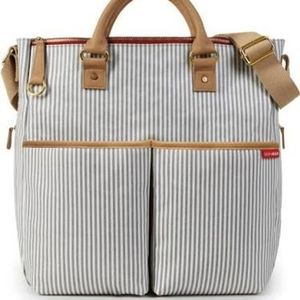 Skip Hop Special Edition Diaper Bag French Stripe